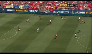 Manchester United 3 - 2 AS Roma (International Champions Cup 2014, vòng )