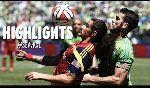 Seattle Sounders 4 - 0 Real Salt Lake (Nhà nghề Mỹ - MLS 2014, vòng 5)