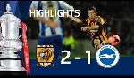 Brighton & Hove Albion 1 - 1 Hull City (England FA Cup 2013-2014, vòng 5)