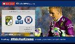 CDSyC Cruz Azul 2 - 2 Club Leon (Mexico 2014, vòng )