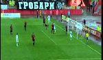 FK Donji Srem 0 - 5 Partizan Belgrade (Serbia 2013-2014, vòng 27)