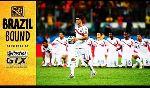 Hà Lan 0 - 0 Costa Rica (World Cup 2014, vòng tứ kết)