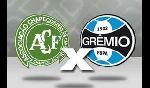 Chapecoense SC 1 - 2 Gremio (RS) (Brazil 2014, vòng 4)