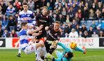 Queens Park Rangers 1-3 Reading (England Championship 2013-2014, round 31)