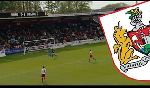 Stevenage Borough 1 - 3 Bristol City (Hạng 2 Anh 2013-2014, vòng 44)