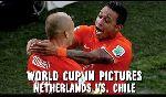 Hà Lan 2 - 0 Chile (World Cup 2014, vòng bảng)
