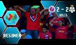 Veracruz 2 - 2 Santos Laguna (Mexico 2014, vòng 17)