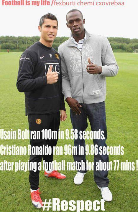 Quá nể cho Ronaldo