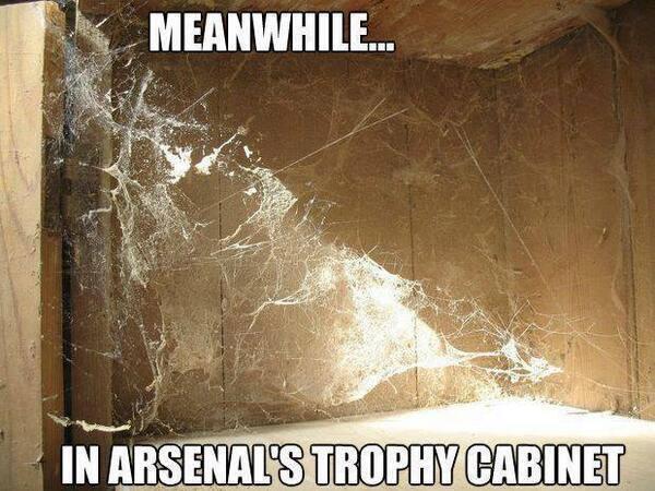 Phòng truyền thống của Arsenal