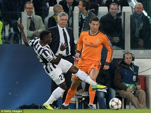 Hình ảnh chói sáng của Ronaldo và Bale trong trận gặp Juve