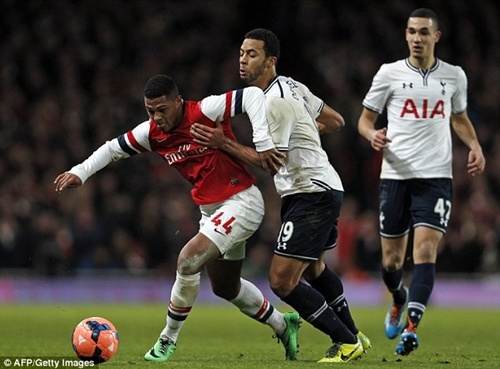 Chùm ảnh Arsenal lần thứ hai khuất phục Tottenham mùa này