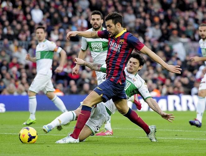 Fabregas dẫn đầu danh sách kiến tạo châu Âu mùa này