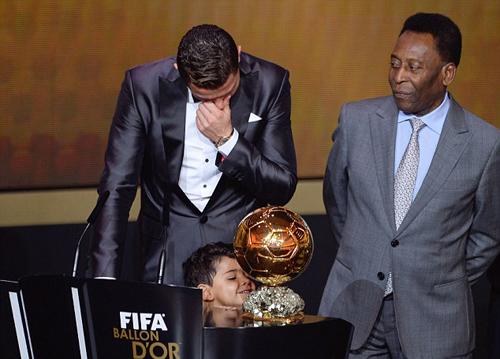 5 lần 'mít ướt' của Quả bóng vàng FIFA 2013