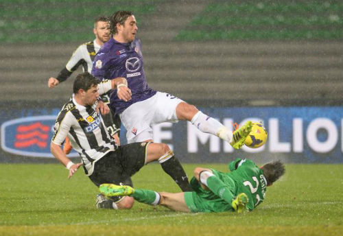 Đội hình tiêu biểu loạt trận bán kết lượt đi Coppa Italia