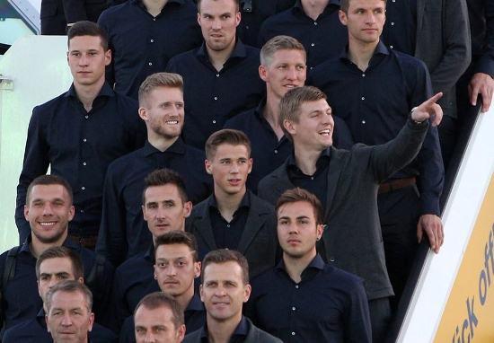 Tuyển Đức là một trong những đội có mặt sớm nhất ở kỳ W.C này