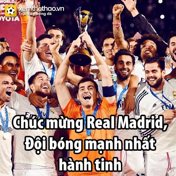 Ảnh chế: Ronaldo có chức vô địch thế giới thứ hai