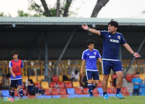 U23 Nhật Bản luyện dứt điểm chờ chạm trán U23 Việt Nam