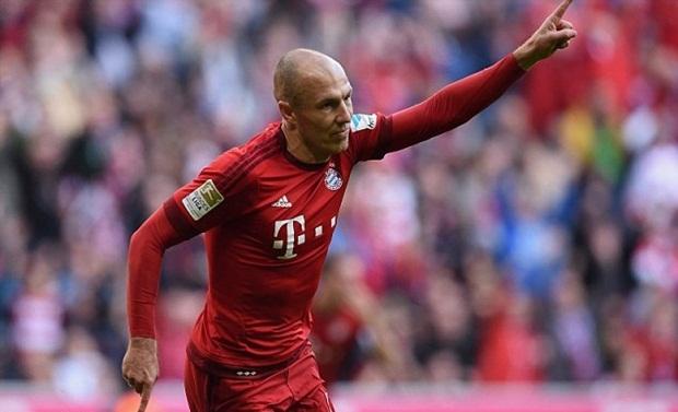 Robben trở lại, ghi bàn trong trận thắng thứ 1.000 của Bayern