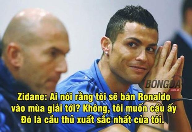 """Ảnh chế: Zidane """"hứng tình"""" với Ronaldo; Nữ bác sĩ """"chơi khó"""" Mourinho"""