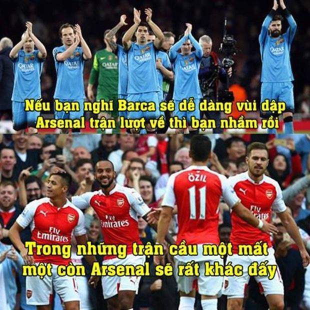 """Ảnh chế: Arsenal hóa Sparta; Anti """"Mou"""" xấu hổ che mặt"""