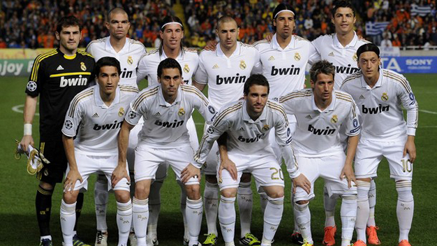 Real Madrid công bố số áo mùa giải 2012/13