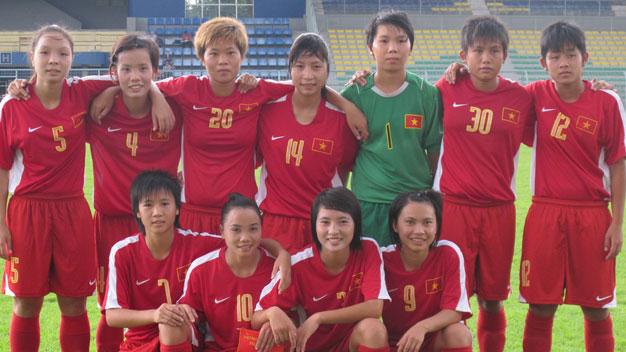 Bóng đá - Vòng loại thứ 2 giải U19 nữ châu Á 2013: Việt Nam đụng Myanmar ở trận khai màn