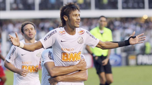 Bóng đá - Neymar ghi 3 bàn, chuyền 1 bàn, Santos đại thắng