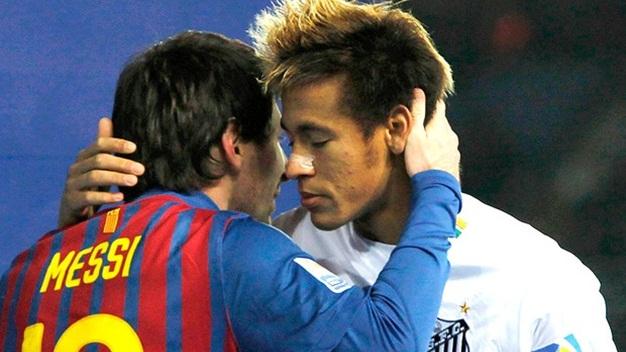 Bóng đá - Neymar gọi mời Messi… đến Santos