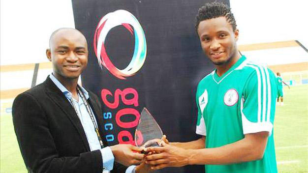 Bóng đá - Obi Mikel - Cầu thủ Nigeria xuất sắc nhất năm 2012