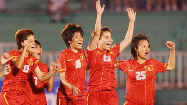 Bóng đá - Bảng C - VL Nữ Asian Cup 2014: Việt Nam đại thắng