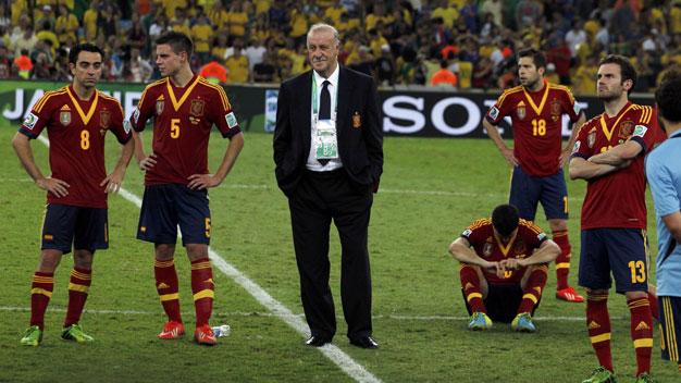 Bóng đá - Tây Ban Nha có lý do vui với thất bại ở Confed Cup