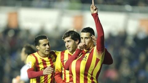 Bóng đá - Levante 4-1 Barca (cúp nhà vua):  hat-trick của Tello