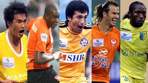 Bóng đá - Top 5 chân sút hay nhất lịch sử V-League
