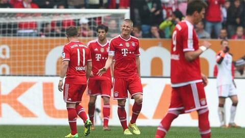 Bóng đá - Augsburg 1-0 Bayern: