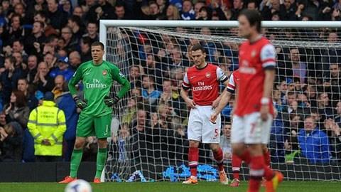 Bóng đá - Everton 3-0 Arsenal: Khách không hay lại không may