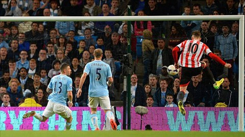Man City 2-2 Sunderland: The Citizens lại hụt bước