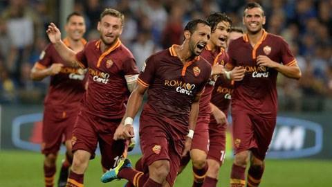 Bóng đá - AS Roma 2-0 Milan: Juventus vẫn chưa thể vô địch