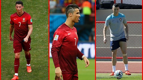 Cris Ronaldo: 3 trận đấu, 3 kiểu đầu