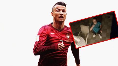 Qua mặt an ninh khách sạn, fan nhí đột nhập phòng ngủ của Ronaldo