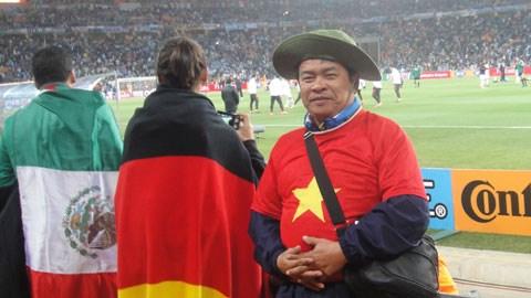 CĐV Việt Nam xách ba lô và ... lên đường xem World Cup