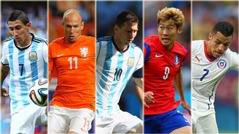 Bóng đá - 5 cầu thủ đi bóng hay nhất World Cup