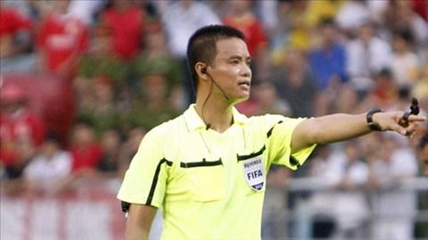 """Võ Quang Vinh đứng đầu danh sách ứng viên """"trọng tài xuất sắc nhất năm 2014"""""""