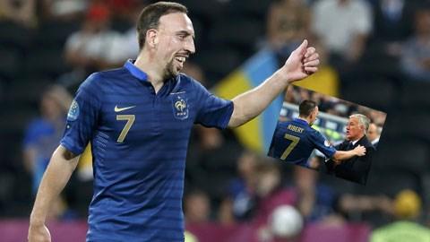 Ribery chia tay ĐT Pháp: Cuộc chia ly được chuẩn bị từ trước