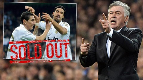 Ancelotti xác nhận Di Maria và Khedira sẽ ra đi