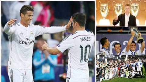 Bóng đá - Real Madrid: Kỳ vọng ngất trời!