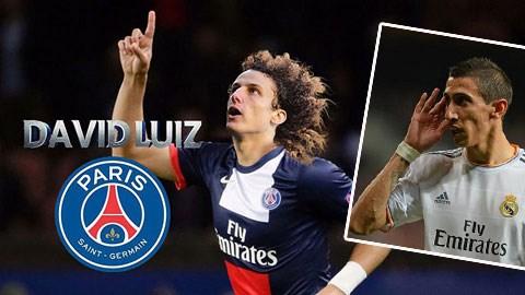 PSG nên dành tiền mua Di Maria thay vì David Luiz