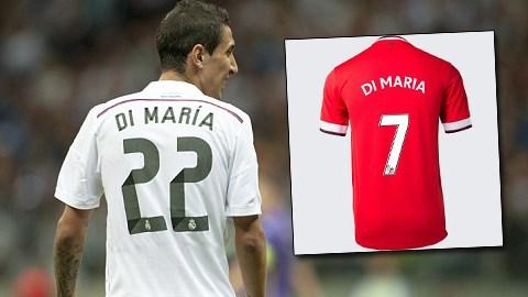 """Thiếu chữ """"R"""", M.U chưa bán được áo của Di Maria"""