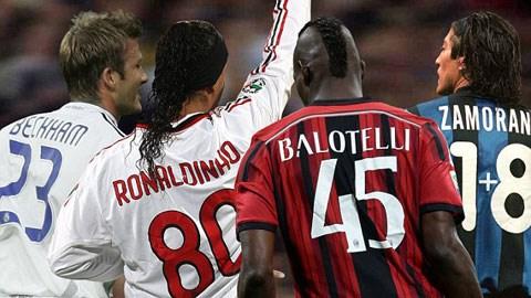 Balotelli và những số áo thi đấu kỳ lạ nhất