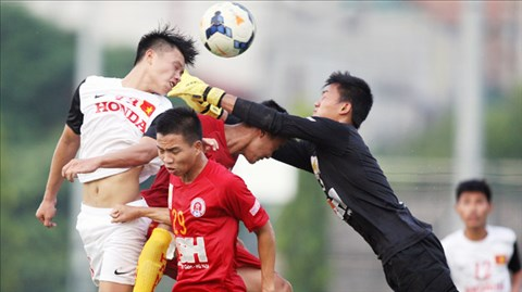 """Bóng đá - Olympic Việt Nam 3-0 CLB Hà Nội: Bài """"thi thử"""" của đoàn quân trẻ"""