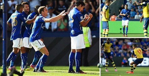 Leicester 1-1 Arsenal: